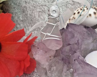 Rainbow Fluorite Necklace**CLEANSED AND BLESSED