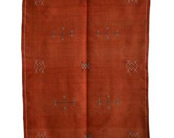 Moroccan Berber Akhnif Kilim Rug - Origin Tazenakht Morocco