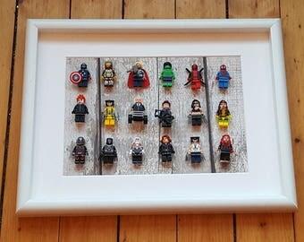 Marvel Superhero Framed Set