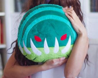 MADE to ORDER. Tidehunter Dota 2 Pillow Plush Soft Toy Plushie Handmade