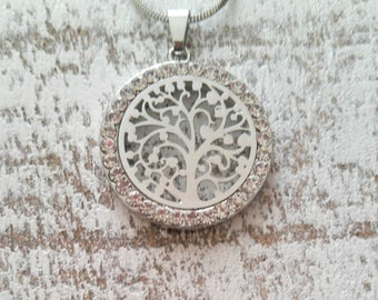 Free shipping Canada,Tree of Life Silver Necklace,Tree of Life Pendant,Sacred Tree,Family Tree Necklace,Mother's day gift,Gift for Mom,HNS