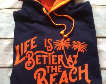 Buddstar Life is Better at the Beach Hoody