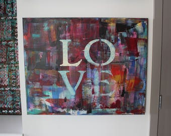 Love Painting (30 X 24 in)