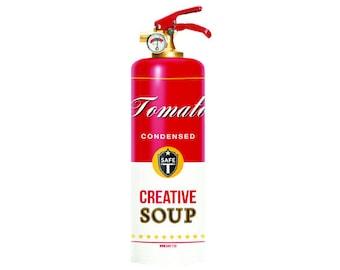 Designer Fire Extinguisher - SOUP