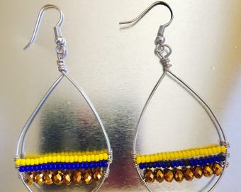 Baydrop Beaded Earrings