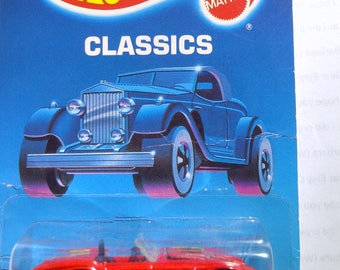 Hot Wheels #31 Classic Cobra Classics Card new on card