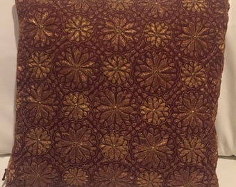 Luxury decorative pillow