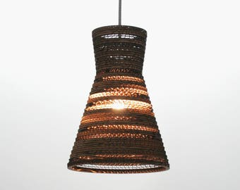 Lamp shade for hanging