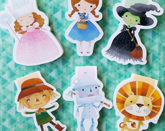 Friends of Oz Magnetic Bookmark Set
