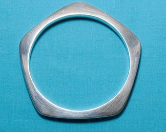 Vintage Mexican Silver Bangle