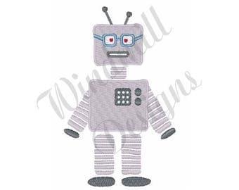 Sci Fi Robot - Machine Embroidery Design