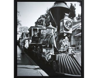 """Fine Art Photography """"C.K. Holliday"""" Framed Stretched Canvas"""