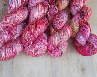 Lucy's Embroidery - Diamond - Superwash Merino Silk - 400 yards