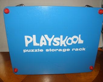 Playskool Puzzle Storage Rack