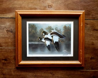 Rick Kelley Signed Limited Edition Print, Rick Kelley Art, Duck Prints, Duck Art, Wildlife Prints