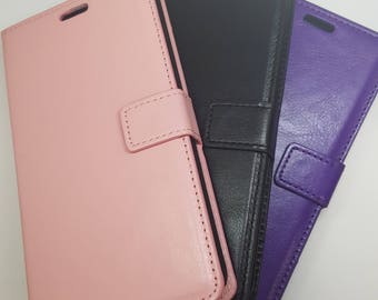Blank Samsung Galaxy Note Edge Wallet Phone Case with Strap for DIY project. Plain Mobile Phone Case for Decoration.
