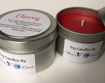 Cherry 4oz Soy Candle