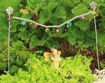 Fairy Party Lights, Party Lights for Fairy Garden, Fairy Lights, Fairy Garden Lights, Fairy Garden Accessory, The Fairy Garden
