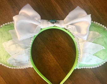 Tiana Princess and the Frog - Inspired Mouse Ears Headband