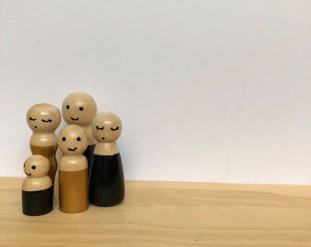 Wooden family
