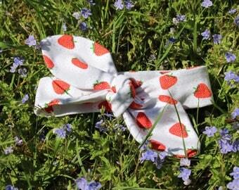 Strawberry headband 6-18 months