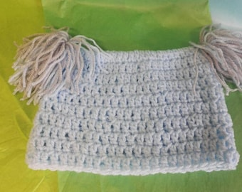 Baby Boys Crocheted Hat