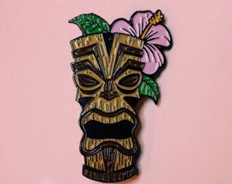 Tiki Totem (lapel pin)