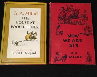 The Written Word: The House at Pooh Corner and Now we are Six by AA Milne