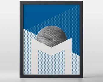 Montreal (The Metropolis) Art Print