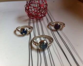 """Rings """"Hanging dots"""""""