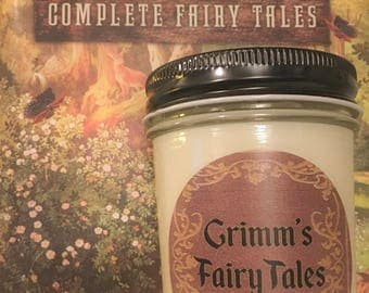 100% Soy Grimm's Fairy Tales Inspired Scented Candle