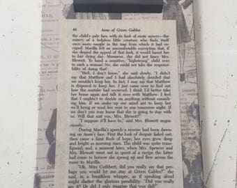 Clipboard with Anne of Green Gables pg 46