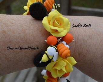 Bumblebee Bracelet, Free Shipping