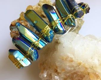 Blue Gold Mini Crown