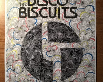 Disco Biscuits squiggle print