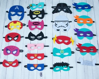 Superhero Party Masks, Superhero Birthday, Superhero Party Decorations, Superhero Party, Superhero Birthday Party, Superhero Party Favors