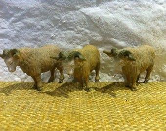 Vintage 3 pieces animals Schleich Made in Germany