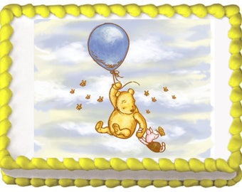 Winnie the Pooh Classic Edible Cake Topper