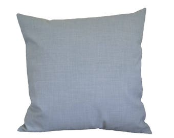 Pale blue pillow-cover, furnishing fabric, pale blue pillow, 50x50 cm/ 19,7x19,7 inch, for decorative pillow