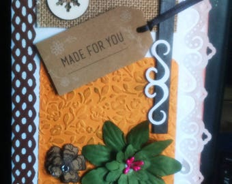(31) hand made 3D greeting card