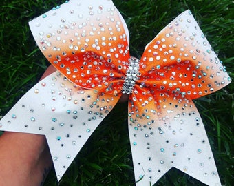 Orange and white Ombre  (contact me for TEAM orders)