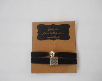 Lot of 12 custom bracelets black tile Barcelona