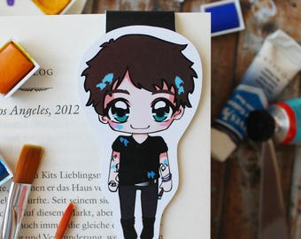 "Magnetic bookmarks ""Julian Blackthorn"" - inspired by Lady Midnight by Cassandra Clare"