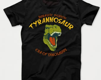 Jurassic Period Era Of Dinosaurs Tyrannosaur T-Rex Graphic Kids T-Shirt