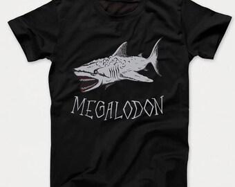Megalodon Ancient Shark Kids T-Shirt