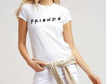 New Friends 90s TV shows- Women's t shirt.Friends Shirts Best Friends Shirts Size S-2XL