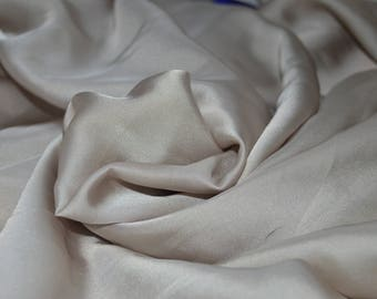 """2.8 yards of Ivory Blouseweight Fabric 60"""" Wide"""