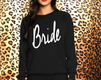 Bride- sweatshirt eco cotton blend