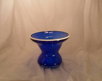 Art Glass Bowl signed and dated by artist