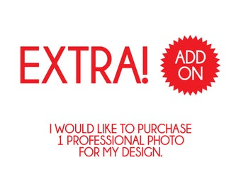 Extra Add On | Purchase of 1 Professional Photo